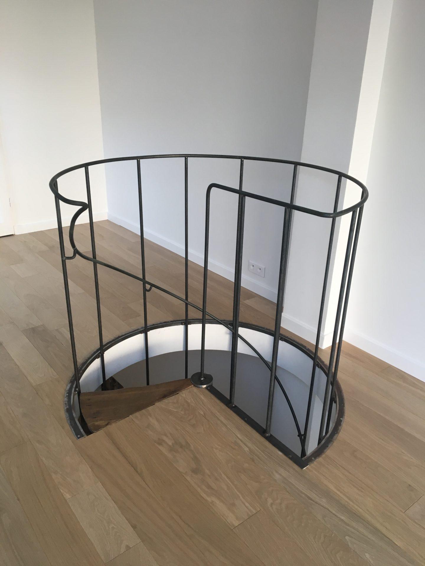 Escalier Val D Oise ferronnerie d'art, serrurerie, métallerie - art métal création